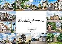 Recklinghausen Impressionen (Wandkalender 2022 DIN A4 quer): Impressionen der einmaligen Kreisstadt Recklinghausen (Monatskalender, 14 Seiten )
