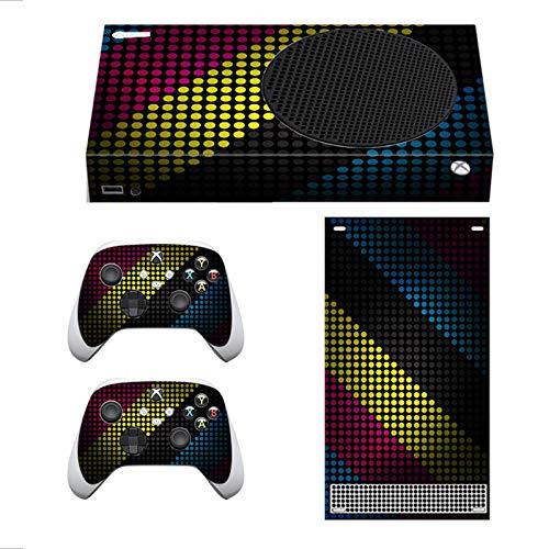AXDNH Carcasa para El Control De Xbox Series S, Cubierta De Calcomanías para Microsoft Xbox Series S Consola Cubierta Protectora Serie S Adhesivo para La Piel del Mango - Camino Rural,031