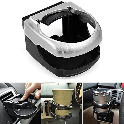 Taotuo - Soporte para bebidas para coche, portátil, universal, para coche, camión, aire para coche, coche, coche, camión, botella de ventilación (blanco)
