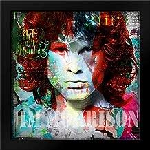 Jim Morrison Framed Art Print by Baker, Micha