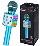 Karaoke Microphone for Kids Gifts Age 4-12,Hot Toys for 5 6 7 8 Year Old Girls Singing Microphone,Popular Birthday Presents for 9 10 11 12 Year Old Teenager