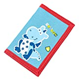RFID Blocking Cartoon Kids Wallet - Girls & Boys Wallet with Zippered Pocket - Trifold Wallet for...