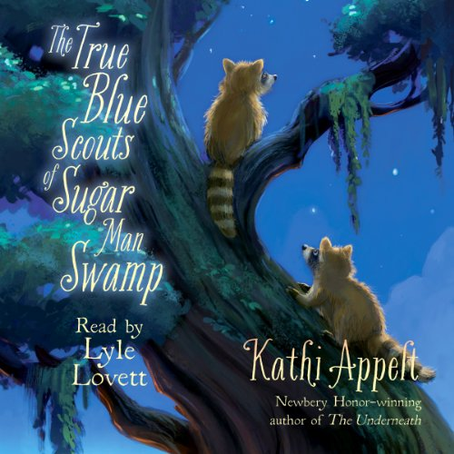 The True Blue Scouts of Sugar Man Swamp audiobook cover art