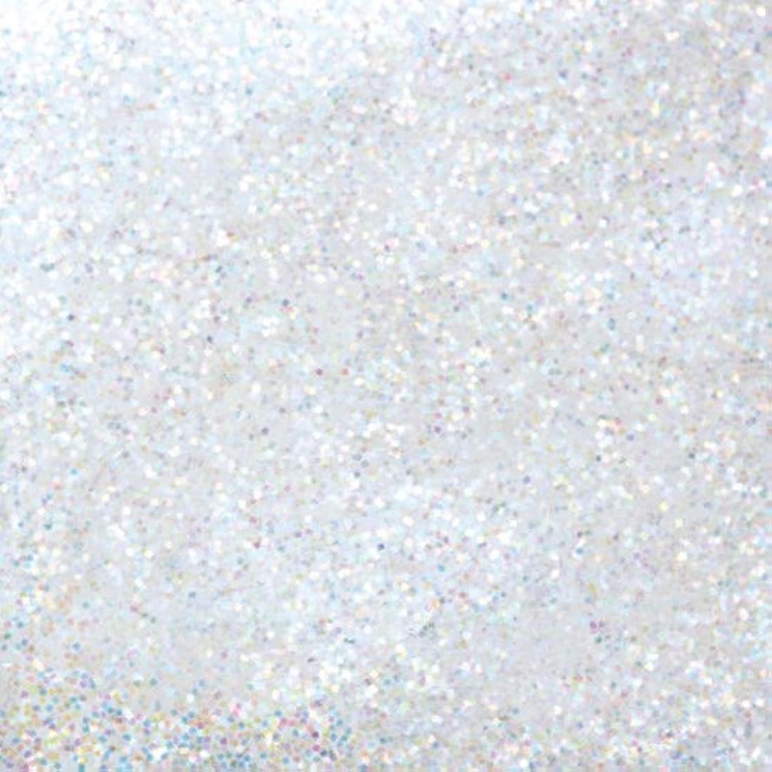 敵倍率投獄ピカエース ネイル用パウダー ピカエース ラメカラーレインボー S #400 ホワイト 0.7g アート材
