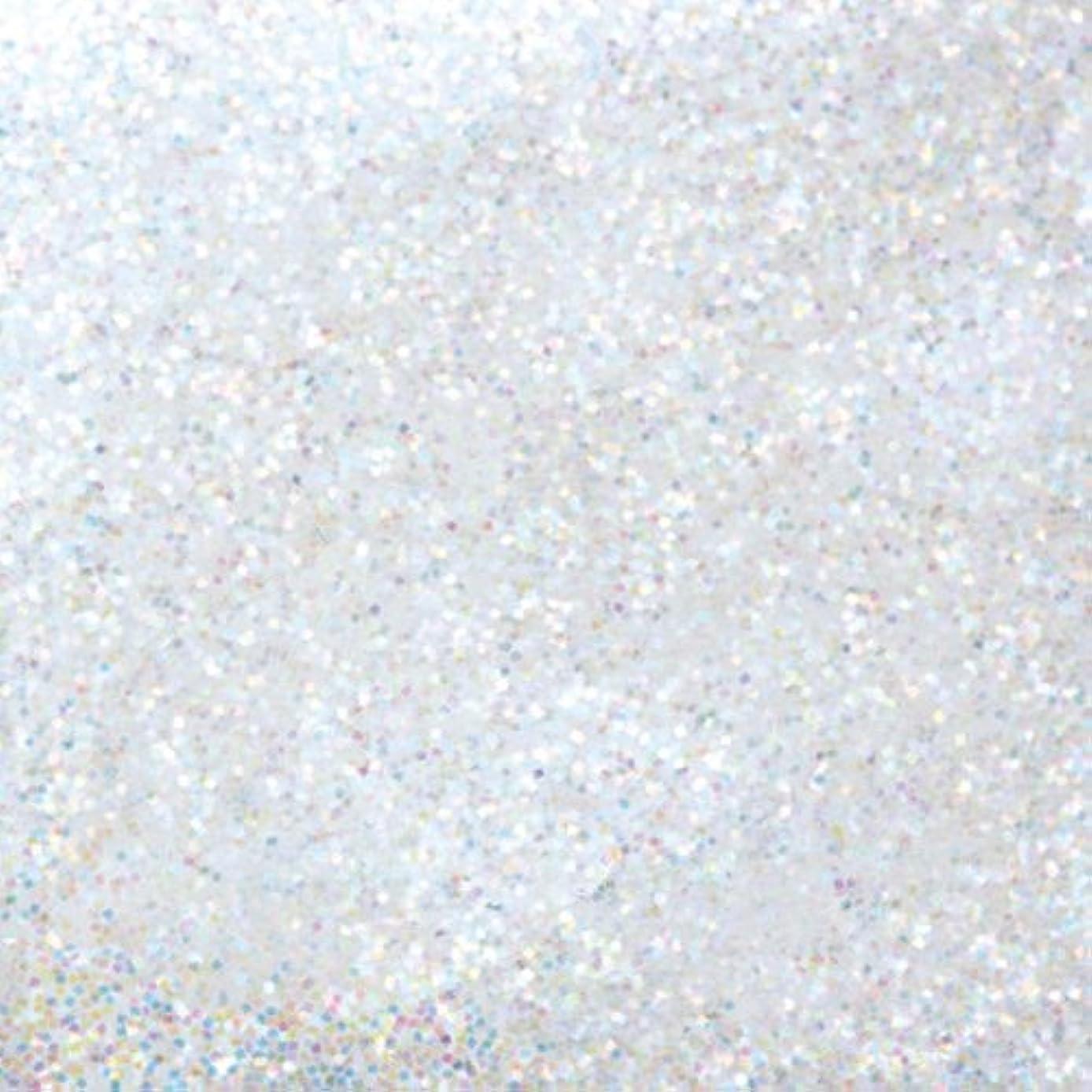 薄いですに対して殺すピカエース ネイル用パウダー ピカエース ラメカラーレインボー S #400 ホワイト 0.7g アート材