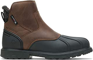 Wolverine Muscovy Romeo Zip Boot,Brown,8.5
