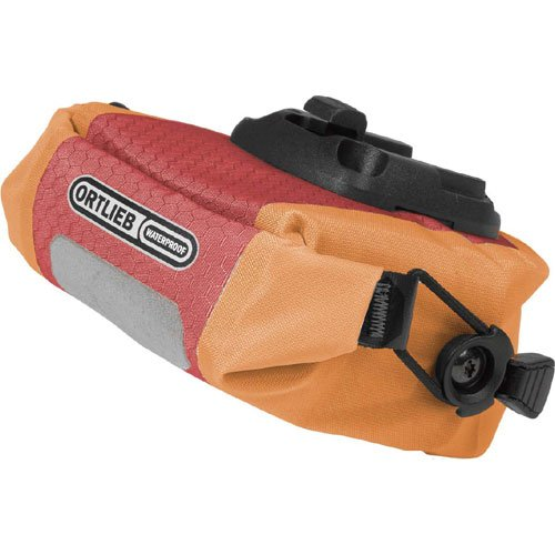 For Sale! Ortlieb Micro Saddle Bag: Red/Orange