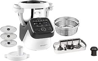 Krups HP50A8 Prep&Cook XL wielofunkcyjny robot kuchenny, 1550, stal nierdzewna, 3 litry, biały/czarny