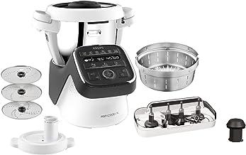 Krups Prep & Cook HP50A8 Robot de cuisine XL avec fonction de cuisson | 1550 W | Bol en acier inoxydable de 3 L | 12 progr...