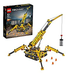Features extendable outriggers moving both laterally and vertically, an extendable boom, and a hoist with extensive cabling and safety lock This 2-in-1 model includes crane 180°-rotating superstructure and rugged crawler tracks and rebuilds into a Co...