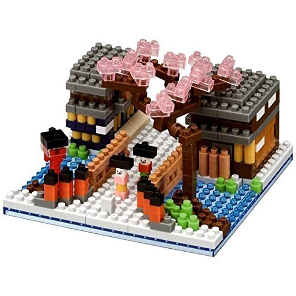 Nanoblock flower of Kyoto Gion street NBH_126 (Limited Edition) by KAWADA