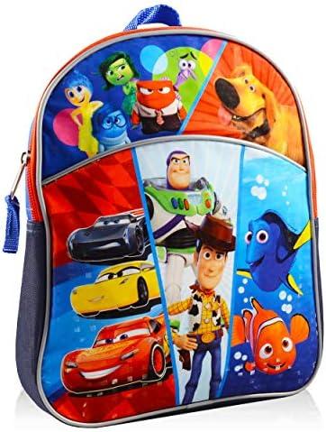 Disney Pixar Mini Backpack for Boys Girls Toddlers Kids Premium 11 Backpack Bundle Featuring product image