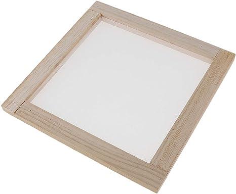 Das Form-Rahmen-Schirm Für Papierhandcraft Bildet Hölzernes Papier