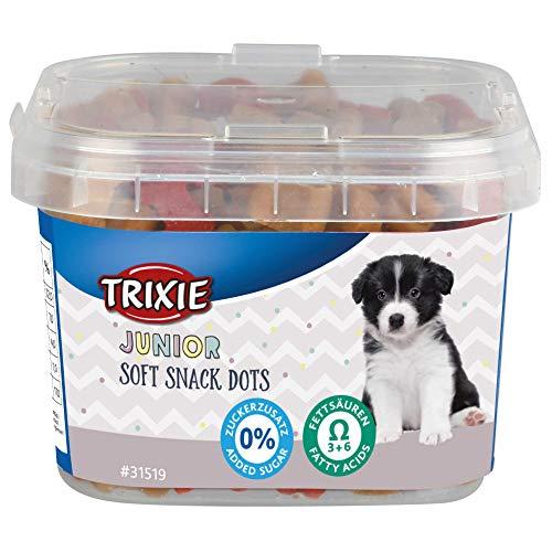 Trixie - Pollo e Salmone Cucciolo di Pollo e Salmone. 140 g Puntini Junior Soft Snack - TR-31519