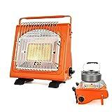XIJING Calentador de Gas butano propano al Aire Libre/Estufa calefactora para Acampar/Cocina más Caliente para Tienda
