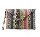 Vvff Jasmine Travelling Envelope Clutch Handbag Purse Tote Bolsos De Mujer para Mujer Talla 27 × 20Cm