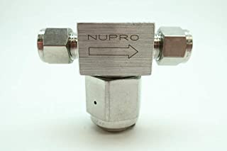 NUPRO SS-4P4T Manual Stainless Plug Valve 1//4IN D652277