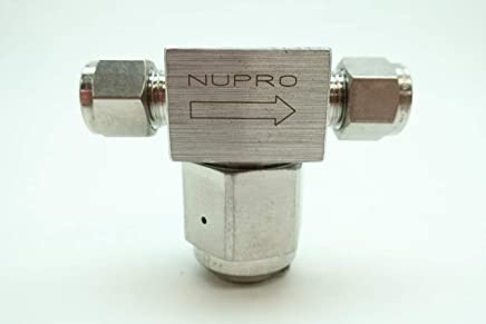 """1//8/"""" Tube Brass Fine Particulate Filter  Nupro"""