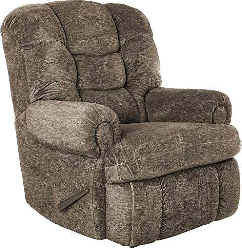 "Lane Stallion Big Man (Extra Large) Comfort King Wallsaver Recliner in Gladiator Cafe'.(Brown) Made for The Big Guy Or Gal. Rated for Up to 500 Lbs. Extended Length. 79"". Seat Width. 25"". 4501L."