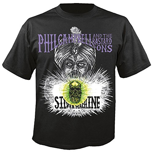 Phil Campbell and the Bastards Sons - Silver Machine - T-Shirt Größe L