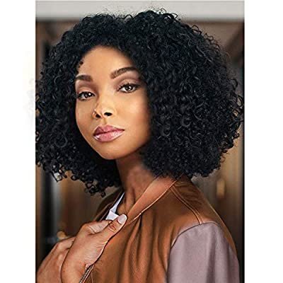 AISI HAIR Synthetic Afro Curly Hair Wigs Heat Resistant Wigs kinky curly Wigs for Black Womens with wig cap