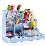 Portalápices, GuKKK organizador de escritorio para lápices, organizador de bolígrafos,cajitas de almacenamiento
