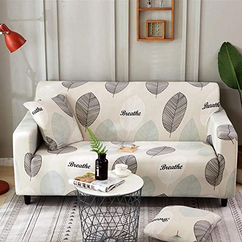 HXTSWGS Protector elástico para Muebles,Living Room Sofa Cover 1 2 3 4 Seat Cover, Stretch Fabric Sofa Protection Cover, Sofa Seat cover-Color33_235-300cm