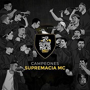 Campeones (feat. Mecha, Yan Velmar, Ritmodelia, Mnak, Skiper, Spektro, Donckan, Raper RSD, G, Drise, Aldahir MC, Febo, Berzerker & B-One)