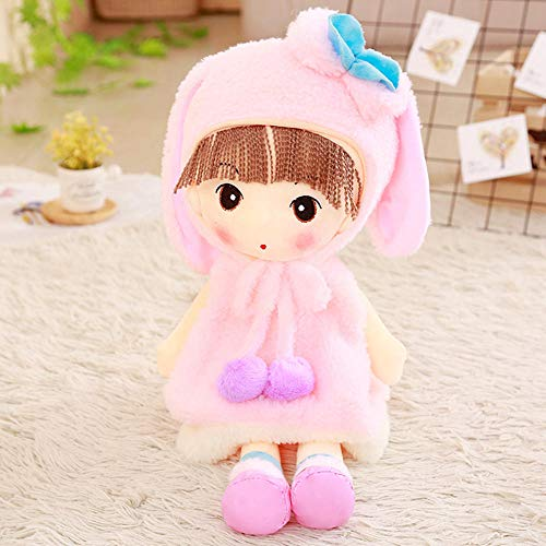 YZHCMKA-N Sombrero Faye Soft Girl Plush Toy Boy Snow Meng Princess Cloth Doll Child Sleeping Doll-45Cm_03