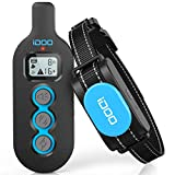 iDOO Dog Training Collar for Large Breed, Dog Shock Collar with Remote for Small Puppy Medium Dogs, Rechargeable E-Collar with Beep Vibration Shock, IPx7 Waterproof, 330 Yards Range