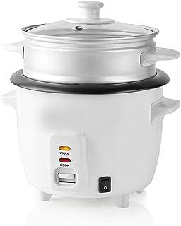 TronicXL 300 Watt 0,6 Liter Reiskocher mit Dampfgarer-Einsat