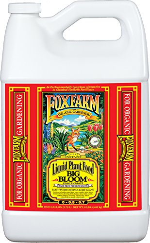 FoxFarm FX14003 1-Gallon Big Bloom Liquid Concentrate 0-0.5 - 0.7