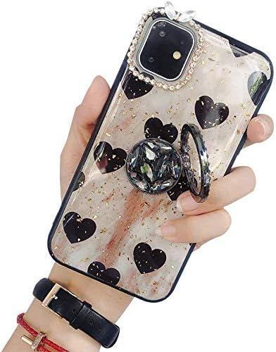 Lozeguyc iPhone 11 Ring Stand Sh TPU Spasm price SALENEW very popular! Soft Crystal Case