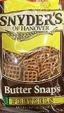2 x 12oz Snyder's of Hanover Butter Snaps Pretzels