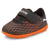Puma Future 6.4 TT V Inf, Zapatillas de fútbol Unisex bebé, Negro, 24 EU