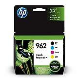HP 962   4 Ink Cartridges  Black, Cyan, Magenta, Yellow   3HZ99AN, 3HZ96AN, 3HZ97AN, 3HZ98AN