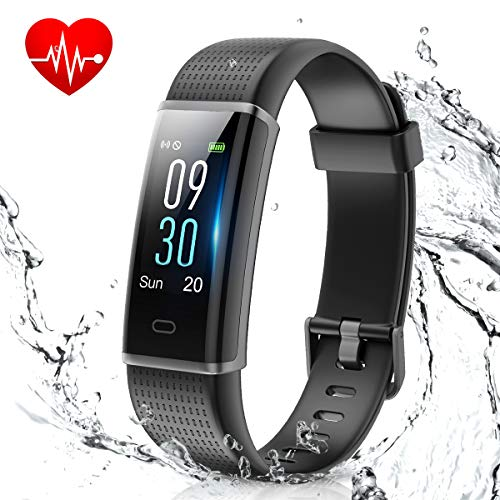 Muzili Smart Band IP68 Waterproof Fitness Tracker with Heart Rate Sleep Monitor...