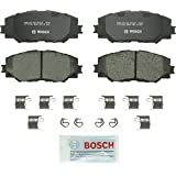 Bosch BP1210 QuietCast Premium Disc Brake Pad Set For: Lexus HS250h; Pontiac Vibe; Scion xB, xD; Toyota Corolla, RAV4, Matrix, Prius V, Front