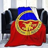 Comanche Nation Flag Fleece Blanket Anti-Fleece Air Conditioning Super Soft and Comfortable Luxury Sofa Blanket