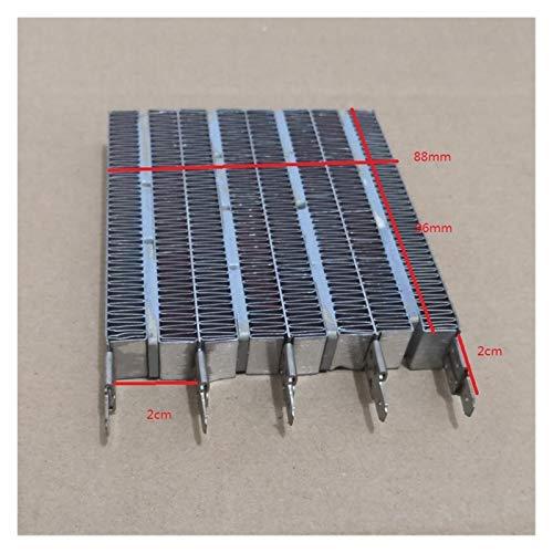 liutao Terrassenheizungen Zubehör Elektro-Heizung Teile Heizkissen PTC-Keramik Heizung 96X87X15mm Zubehör
