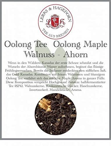 Oolong Tee Oolong Maple Walnuss 1 kg - Ahorn