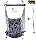 Kkriya Home Decor ®Jumbo Hammock N Swing Black Made in India