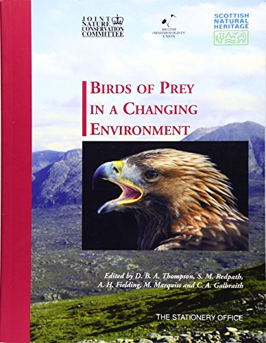 Birds Of Prey In A Changing Environment (Natural Heritage of Scotland)