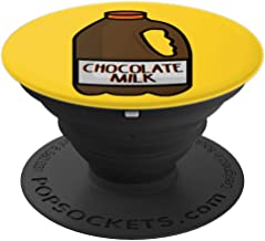 Gallon of Milk - Chocolate Milk - Dairy PopSockets Grip and Stand for Phones and Tablets