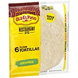Old El Paso Old El Paso Restaurante Grande Flour Tortillas 6 ct Bag, 21.5 oz
