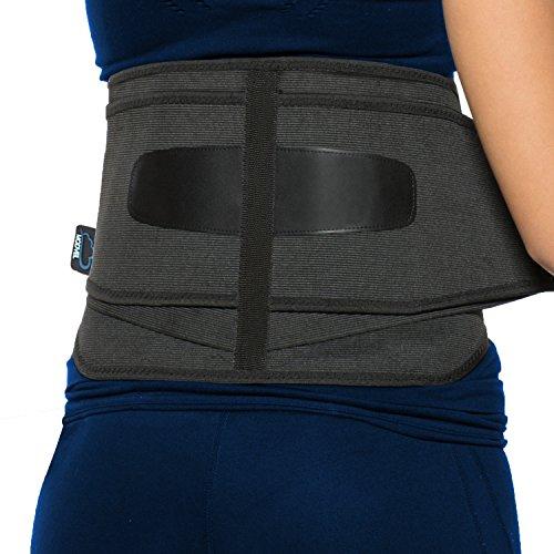 modvel unteren Rücken Lendenwirbelstütze Korsett für Damen und Herren–Orthopädischer Rückenstabilisator Gürtel Design – entlastet Rückenschmerzen–Ideal für Mitarbeiter bei der Arbeit S/M/L (mv-119)