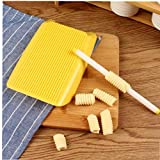 Casecover Pastas de los macarrones Junta de los Alimentos para niños Suplemento Gnocchi fabricación de moldes de plástico Herramientas de la Cocina