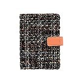 Da.Wa 1 Pezzi A6 Blocchi appunti e taccuini design vintage ed elegante Blocchi appunti stenografia Scelta regalo ideale258 pagine/128 fogli 15cm*10.5cm(Arancia)