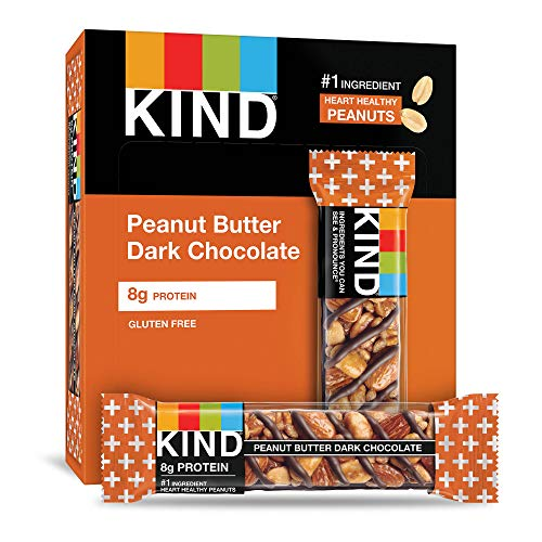 Kind Bar - タンパク質栄養バー ボックス ピーナッツ バター チョコレート プラス - 1バー