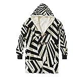 Centh Dazzle Camouflage Seamless Pattern,Warm?Men Hoodies,Fashion?Jacket,XXXXL